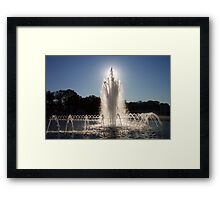 From Death, Hope Framed Print