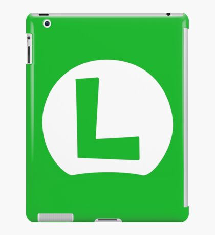 Luigi L iPad Case/Skin