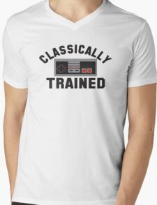 Classically Trained Mens V-Neck T-Shirt