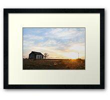 Pastel Sunrise. Framed Print