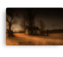 """ Misty Eve "" Canvas Print"