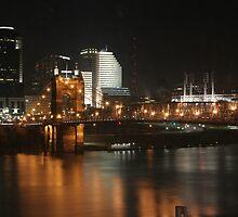 Cincinnati Bridge by Lisa Williams