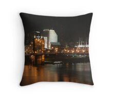 Cincinnati Bridge Throw Pillow