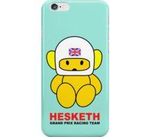 Hesketh Racing iPhone Case/Skin