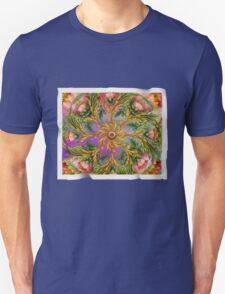 The Delicate Floral Parchment T-Shirt