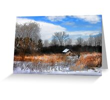""" Paint me a Memory "" Greeting Card"