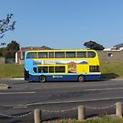 Dublin Bus - Malahide, Co. Dublin by Margaret Zita Coughlan