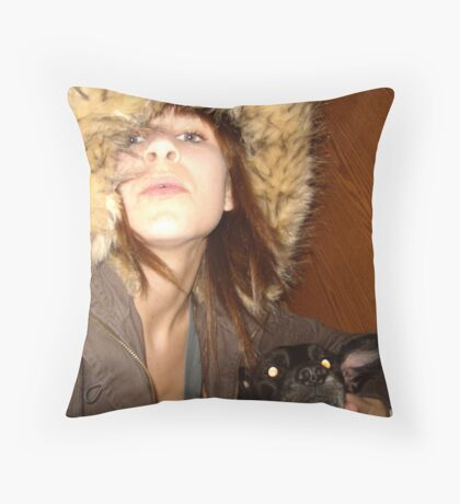 kinetic Throw Pillow