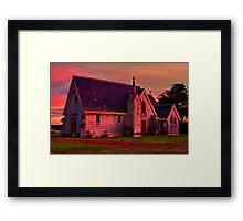 """Reflecting the Glory"" Framed Print"