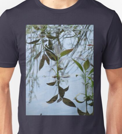 Reflections in the water Unisex T-Shirt