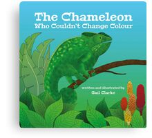 The Chameleon Who Couldn't Change Colour Canvas Print