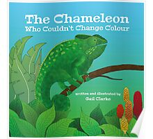 The Chameleon Who Couldn't Change Colour Poster