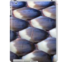 Scales of a Blue-bellied Black Snake iPad Case/Skin