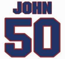 National baseball player John Verhoeven jersey 50 by imsport