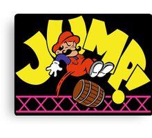 JumpMan! Canvas Print