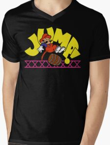 JumpMan! Mens V-Neck T-Shirt