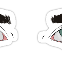 Graceful Eyes Sticker