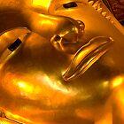 Golden buddha by Juha Sompinmäki