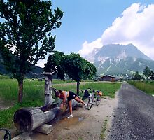 Road to Zugspitze by kevin smith  skystudiohawaii