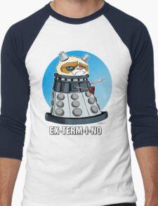 Grumpy Dalek Men's Baseball ¾ T-Shirt