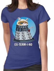 Grumpy Dalek Womens Fitted T-Shirt