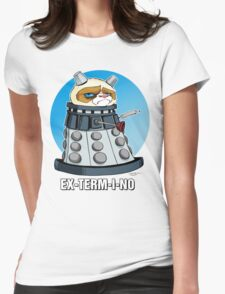 Grumpy Dalek Womens Fitted T-Shirt
