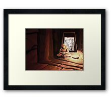 Ryki - Issue 3 Cover Framed Print