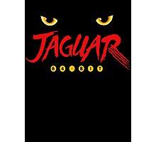 Jaguar Retro Classic Photographic Print