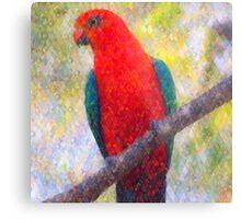 King Parrot II Metal Print