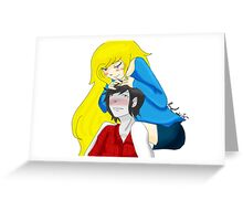 Fionna and Marshall Greeting Card