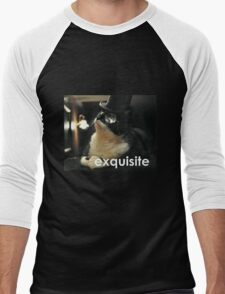 Exquisite Cat Men's Baseball ¾ T-Shirt