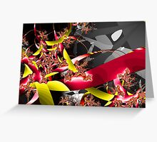 At War With Destiny Greeting Card