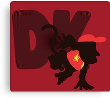 Diddy Kong (Donkey Kong version) - Sunset Shores Canvas Print