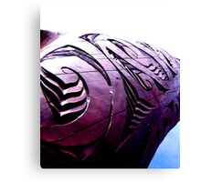 Carving the way Canvas Print