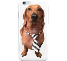 Dachshund Sausage Dog wearing tie iPhone Case/Skin