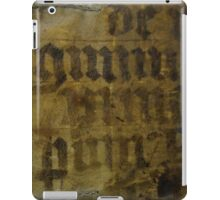 Medieval Book Cover iPad Case/Skin
