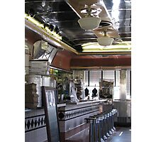 Airline Diner Photographic Print