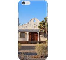 Desert church iPhone Case/Skin
