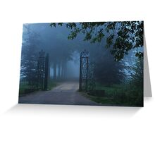 Do we dare to enter? Greeting Card