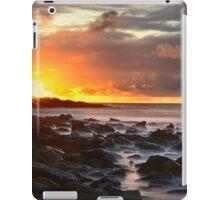 Last sun rays iPad Case/Skin