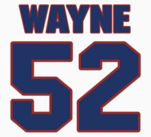 National baseball player Wayne Rosenthal jersey 52 by imsport