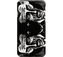 tesla (version 1 double) iPhone Case/Skin