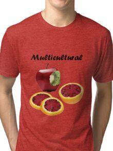 Multicultural Fruit Tri-blend T-Shirt