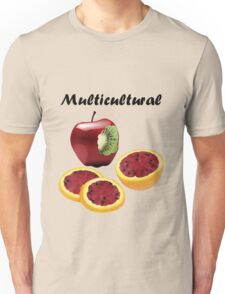 Multicultural Fruit Unisex T-Shirt