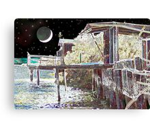 MOON OVER MARCOPIA Canvas Print