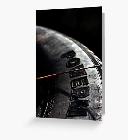 Tyre Greeting Card
