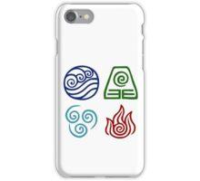 Avatar - Elements Symbols iPhone Case/Skin