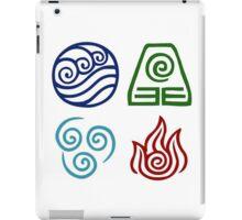 Avatar - Elements Symbols iPad Case/Skin