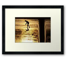 There must be guardian angels Framed Print