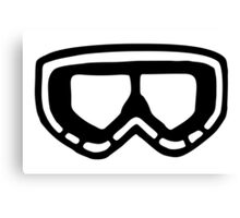 Snow Goggles Canvas Print